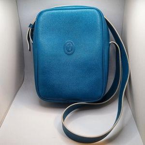 Trussardi Turquoise Cross Over Bag